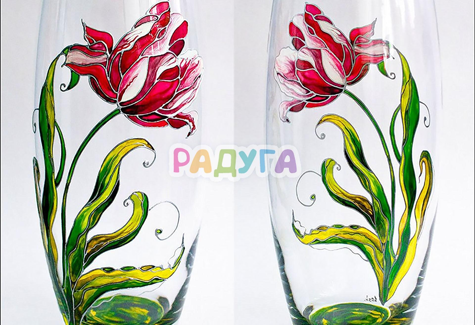 картинки роспись по стеклу